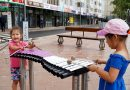 Ксилофон, фортепиано және ноталары бар орындықтар: Нұр-Сұлтан скверлері қалай абаттандырылуда