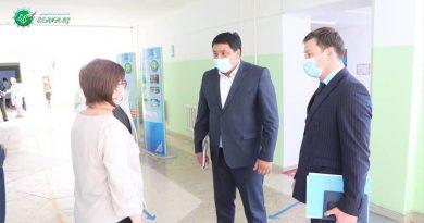 Сарысу ауданындағы 27 мектеп ІV тоқсанды 9166 оқушымен бастады.